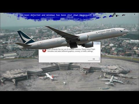 PMDG 777 flies on Vatsim from Manila to Hong KoOOM