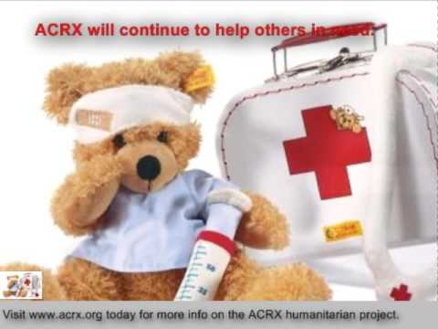 Medicine Coupons Donated To Luxford Elementary School By Charles Myrick of ACRX