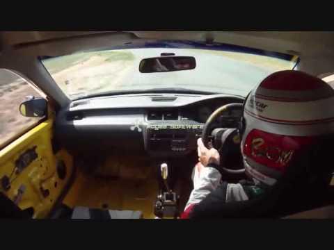 1994 Honda civic 1:06:8 lap @ Wakefield Park