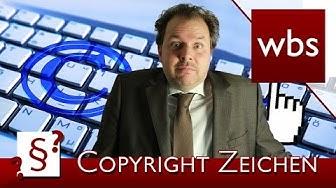 Darf ich das Copyright Zeichen verwenden? | Rechtsanwalt Christian Solmecke