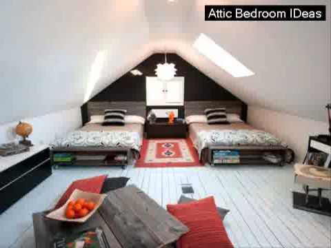 Attic Room Makeover Ideas - YouTube