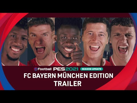 eFootball PES 2021 Season Update x FC Bayern - Club Edition Trailer