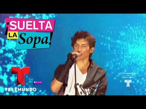 Emilio, hijo de Niurka, debuta como cantante | Suelta La Sopa | Entretenimiento