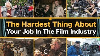 The Hardest Thing About Your Job In The Film Industry || Spotlight
