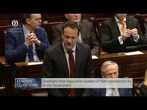 Leo Varadkar lies to the Dáil
