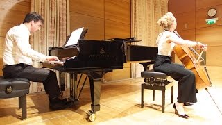 Marcello Adagio and Allegro played by Susanne Beer and Gareth Hancock