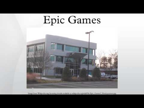 Epic Games - YouTube