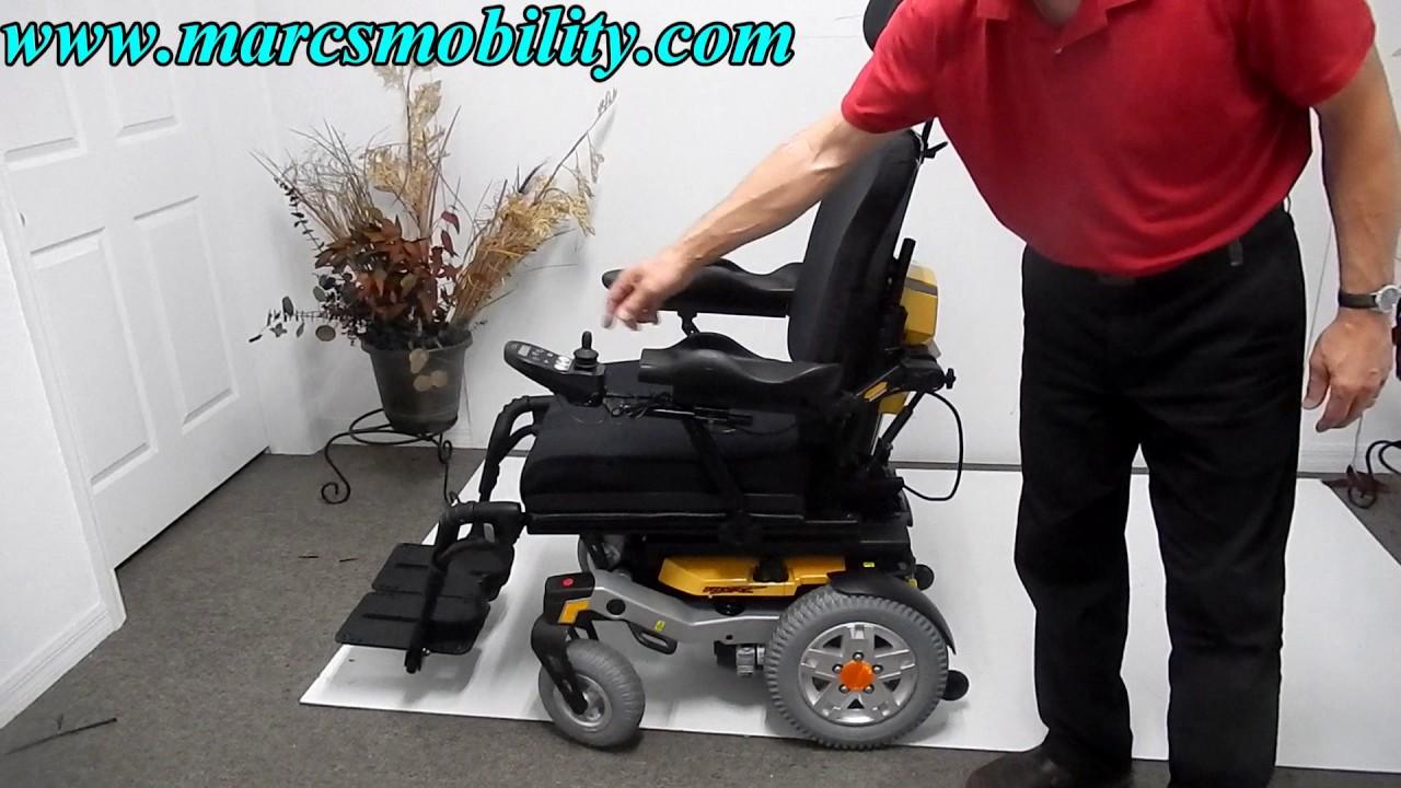 Quantum Rival Fast Rear Wheel Drive Power Chair  YouTube