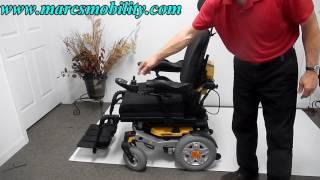 Quantum Rival Fast Rear Wheel Drive Power Chair
