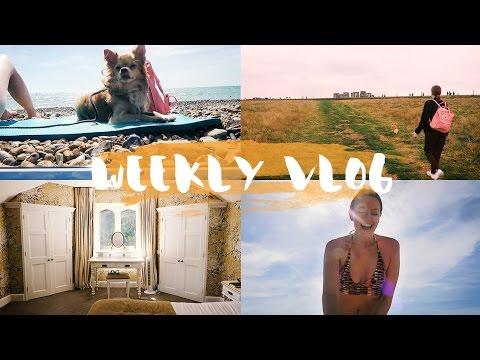 Urlaub mit Hund, Spa-Time, Stonehenge & Strandtag in Brighton - WEEKLY VLOG #31