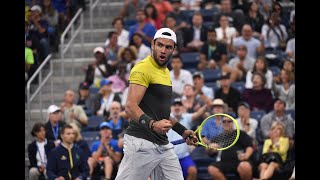 Andrey Rublev vs Matteo Berrettini | US Open 2019 R4 Highlights