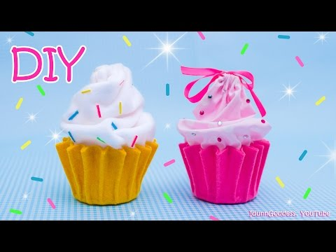 DIY Cupcake Pouch For Make-Up, Jewelry and Stationery – How To Make A Cupcake Bag