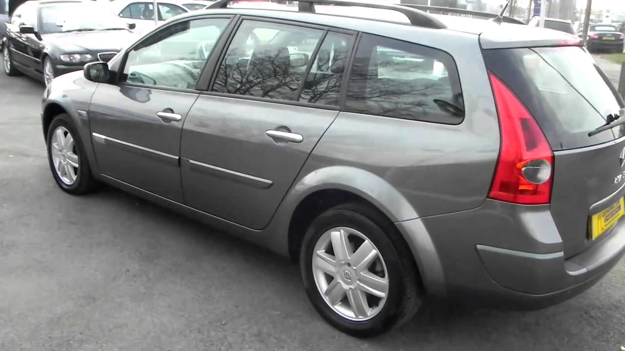 renault megane 1 9 dci 90 dynamique estate youtube. Black Bedroom Furniture Sets. Home Design Ideas