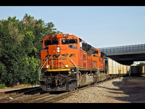 BNSF & Union Pacific in Denver Colorado Part 1