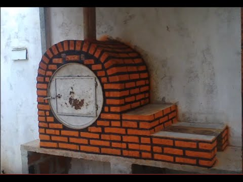 FORNO DE MEIO TAMBOR COM FOGO DE LENHA  MEAN DRUM OVEN WITH FIREPLACE COOKER  YouTube
