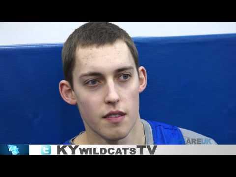 Kentucky Wildcats TV: Kyle Wiltjer Pre-South Carolina Player Interview