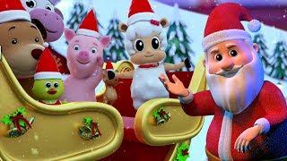 звон колоколов | Рождественская песня | Дед Мороз | Christmas Carols For kids | Jingle Bells