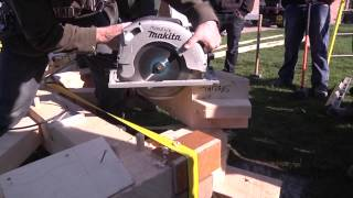 Timber Frame Assembly (roughcut)
