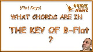 what chords are in the key of bb major? - music theory - guitarfromtheheart.com