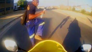 Brutal & Moronic Roadbike Accidents 2016