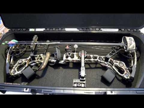 SKB Bow Case for Halon 6. SKB I Series 3614 Review