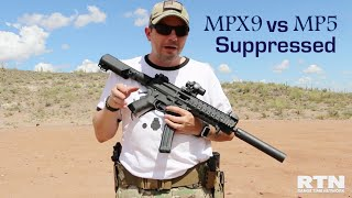 SIG MPX 9 vs MP5 Suppressed
