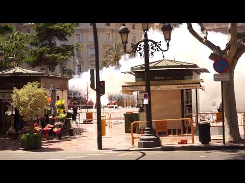 Mascleta  Virgen de los Desamparados - Fireworks Valencia 2019