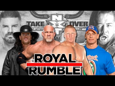 WWE Royal Rumble 2017 - Episode 1