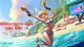 Violet tiệc bãi biển