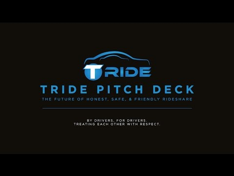 TRIDE RIDESHARE PITCH DECK