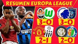 🏆 EUROPA LEAGUE (OCTAVOS de FINAL 2020) [Resumen PARTIDOS Europa League hoy] Futbol Europeo 2020 🔥👌