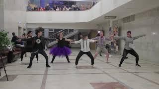 """Танец """"Фурия"""" на встрече Сургановой и ребят в Подольске!"""