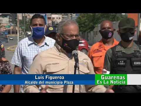 Desde Guarenas despliegue especial de seguridad y prevención en la batalla contra el covid19