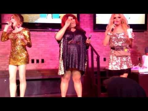 "DWV performing ""The Christmas Song"" at the grand opening of Hamburger Mary's Long Beach"