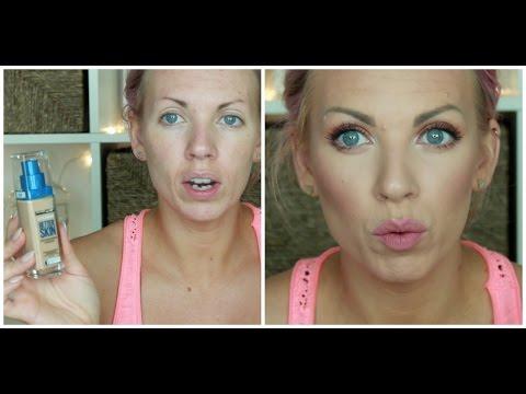 ♡ NEW Maybelline Superstay Better Skin Foundation & Concealer Review & Demo ♡