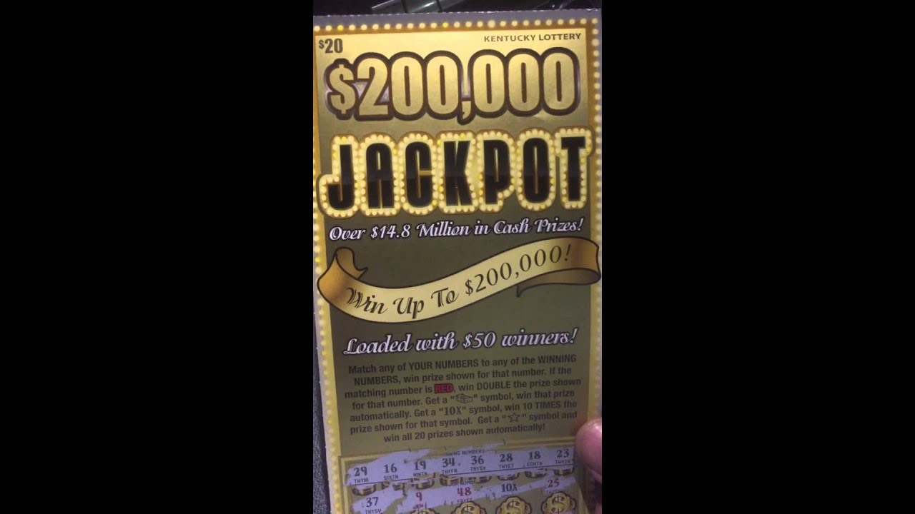 Kentucky lottery scratch off prizes remaining