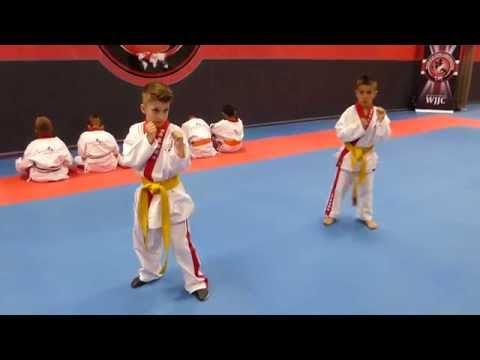 Ju-Jitsu - World Ju-Jitsu Corporation. Two little Samurai. Hajime!!!!!!!