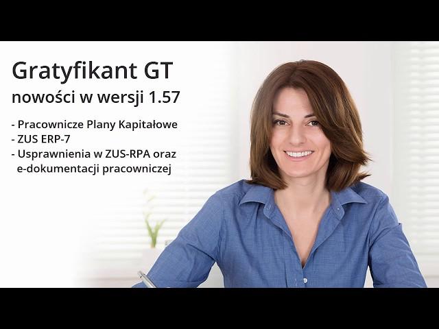 Gratyfikant GT - nowości w wersji 1.57