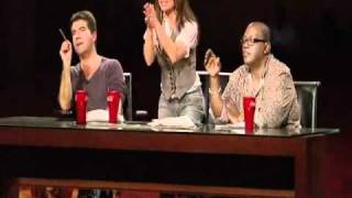 Download Simon Cowell shouts at a contestant ! Mp3 and Videos