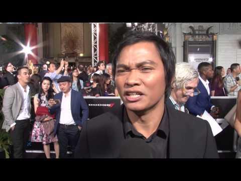 """Furious 7: Tony Jaa """"Kiet"""" Exclusive Premiere Interview - Beat Up Paul Walker / การสัมภาษณ์"""