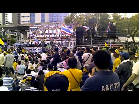 Thai People's Army Protest Part I-1 - 04-Aug-2013