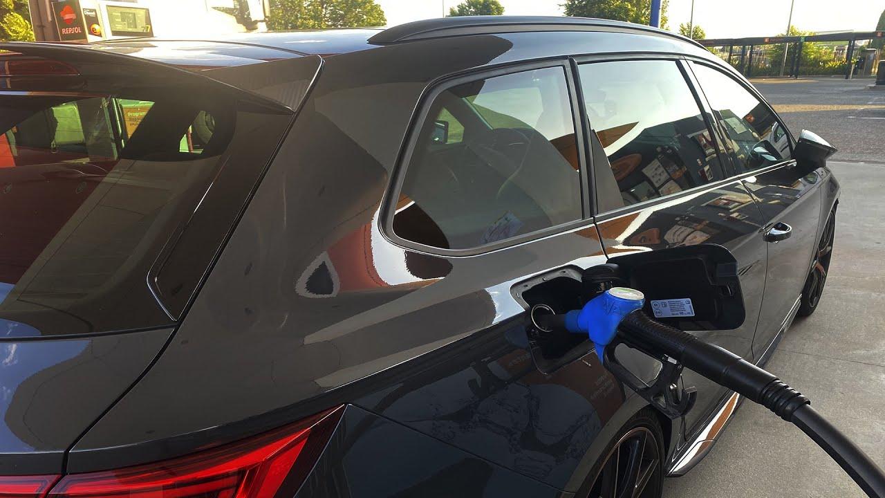 Consumos con Repro Stage 1 Seat Leon CUPRA ST R