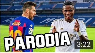 Canción Real Madrid vs Barcelona 2-0 (Parodia Tusa - Karol G, Nicki Minaj)  FRAN MG 2.0