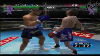 PS2 / 1080p / 60fps / K-1 World GP 2003 / JPN / Konami