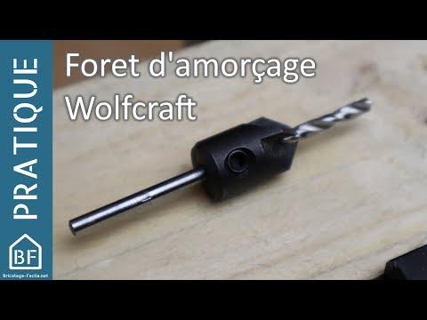 Accessoire Pratique Foret D Amorçage Wolfcraft L Ernz Noire