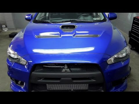 How To Install: Mishimoto 2008+ Mitsubishi Lancer Evolution 10 X-Line Performance Radiator