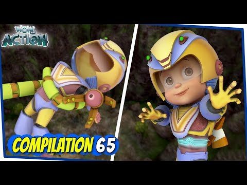 Vir The Robot Boy | Animated Series For Kids | Compilation 65 | WowKidz Action