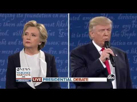 FULL VIDEO: Donald Trump vs Hillary Clinton - 2nd Presidential Debate