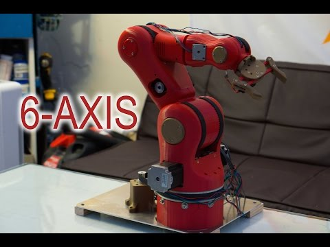 Download Time Lapse Building A 3d Printed 7 Dofs Robot Arm From