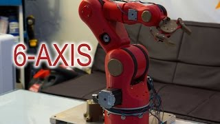 6-Axis 3D Printed Robotic Arm - Mechanical - (Part 1)